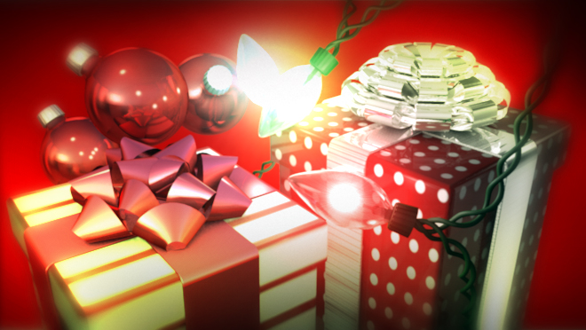 Free #C4D Models: Holiday Pack | cinema4d sources