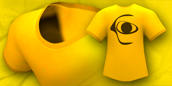 Free Cinema 4D Model: T-Shirt – eyedesyn