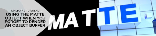 matte object